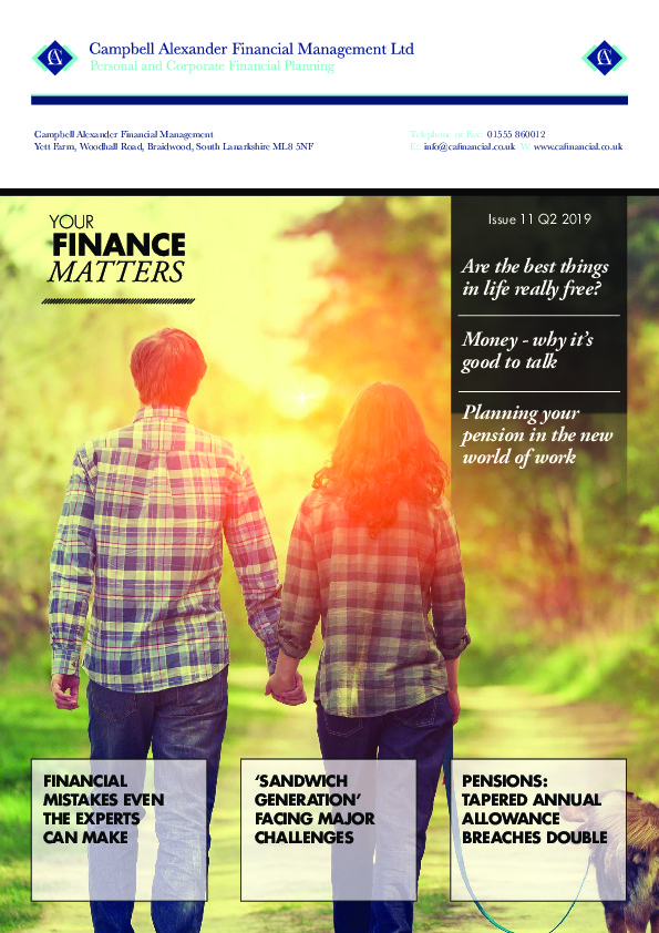 Newsletters - Financial advisers, mortgage brokers